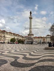 Place de Rossio-Quartier de Baixa (Xtian du Gard) Tags: xtiandugard lisboa lisbonne portugal rossio baixa