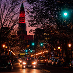 Holiday Sunset in Old Town Alexandria thumbnail