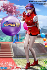 PHICEN PL2018-135 Athena Asamiya 麻宫雅典娜 SNK King of Fighters - 03 (Lord Dragon 龍王爺) Tags: 16scale 12inscale onesixthscale actionfigure doll hot toys phicen tbleague seamless