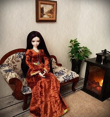 (claudine6677) Tags: bjd msd ball jointed doll asian dolls mystic kids lillian puppe sammlerpuppe