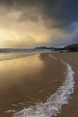 BEFORE A STORM (Kathy ~ FineArt-Landscapes) Tags: godrevy stives cornwall storm beach clouds weather landscape coast