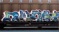 Graffiti on Freights (wojofoto) Tags: graffiti amsterdam nederland netherland holland freighttraingraffiti freighttrain freights fr8 cargotrain vrachttrein wojofoto wolfgangjosten naost