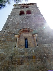 Vizcaínos (santiagolopezpastor) Tags: espagne españa spain castilla castillayleón burgos provinciadeburgos medieval middleages iglesia church románico romanesque tower torre