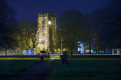 St Mary's Church, Aldridge 26/01/2019 (Gary S. Crutchley) Tags: aldridge st marys parish chruch uk great britain england united kingdom urban town townscape walsall walsallflickr walsallweb black country blackcountry staffordshire staffs west midlands westmidlands nikon d800 history heritage local night shot nightshot nightphoto nightphotograph image nightimage nightscape time after dark long exposure evening travel street slow shutter raw church of cofe anglican religion christianity faith worship gospel christ