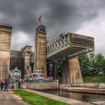 Peterborough Ontario ~ Canada ~  Peterborough Lift Lock National Historic Site of Canada thumbnail