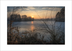 sunrise island II (Hans Zitzler) Tags: morning pond lake sun dawn oberpfalz bavaria teublitz heimat