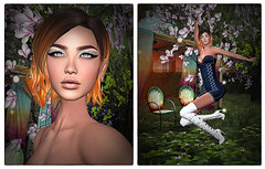 LuceMia - The Darkness Monthly Event (2018 SAFAS AWARD WINNER - Favorite Blogger - MISS ) Tags: thedarknessmontlyevenr exclusive giuliadesign rin tammy ella eyeshadow ourfit sl secondlife mesh fashion creations blog beauty hud colors models lucemia