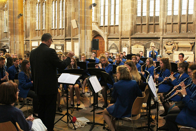 JOK perform at St Mary's Church in Nottingham City