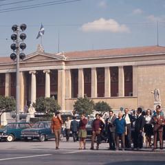 Αθήνα, Οδός Πανεπιστημίου (Athens, Panepistimiou street). (Giannis Giannakitsas) Tags: greece grece griechenland athens athenes athen αθηνα πανεπιστημιου panepistimiou konrad helbig