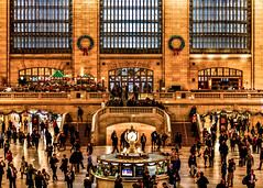 Grand Central Station (K&S-Fotografie) Tags: building architecture city urban nyc art manhattan travel old light