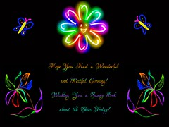 Smile in Multi-colora! (jlynfriend) Tags: illustration card greeting multicolor butterfly flower illuminations colors bright cheer smileonsaturday multicolora