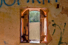 Window with a view (Santini1972) Tags: window nikon abandoned urbex explore anoia barcelona decay wood nature green sun