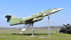 """Lockheed F-104G Starfighter c/n 683-2002 Germany Air Force serial 2002 Preserved as """"DB-127"""" (Erwin's photo's) Tags: germany berlin gatow militärhistorisches museum flugplatz preserved aircraft stored luftwaffe nva ddr raf lockheed f104g starfighter cn 6832002 air force serial 2002 db127"""