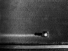Lignes (Meculda) Tags: drone anafi parrot dronephotographie campagne ligne route road champs france french tracteur blackandwhite blackwhite noiretblanc noirblanc monochrome monochrom landscape paysage