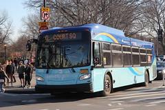 IMG_5134 (GojiMet86) Tags: mta nyc new york city bus buses 2018 xd40 7679 subway shuttle bedford avenue lorimer street