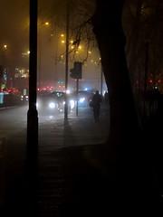 Manchester fog (stillunusual) Tags: manchester fog mcr city england uk streetphotography street cityscape urban urbanscenery urbanlandscape evening night dark kingsway a34 parrswood eastdidsbury 2019