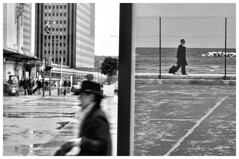 Two Worlds (Franck gallery) Tags: blackwhite nb bw people personnes gens d90