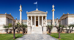 _MG_9292 - The Academy of Athens (AlexDROP) Tags: 2017 europe greece athens greek academy travel color city urban cityscape daylight temple architecture history canon6d ef241054lis best iconic famous mustsee picturesque postcard