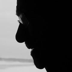 portrait (jlp771) Tags: profile silhouette black white sony ilce6000