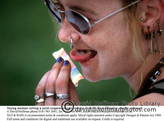 Pierced Woman Rolls Joint (hoffman) Tags: cannabis cosmetics crime drugs female hashish horizontal illegality joint lady marijuana nailvarnish outdoors paper pierced piercing rings rolling safetypins smokes sunglasses teeth woman youth 181112patchingsetforimagerights london uk
