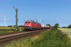 DB 218 315 + 218 321 - Klanxbüll (Pau Sommerfeld Acebrón) Tags: