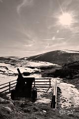 Per non dimenticare...!!! (Biagio ( Ricordi )) Tags: montagna neve inverno guerra cannoni sole seppia italy
