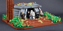 1983: Taking the Bunker (Luca s projects) Tags: lego moc star wars rotj bunker episode 6 vi verynice