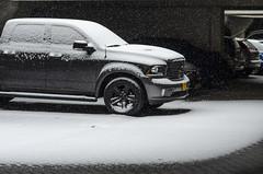 Snow in Amsterdam (Erol Cagdas) Tags: nikond7000 nikon85mm18g snow winter amsterdam cars vehicles