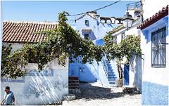 559- ESCALERAS LUCES Y SOMBRAS EN XAUEN -MARRUCEOS - (--MARCO POLO--) Tags: exotismo marruecos calles ciudades arquitectura curiosidades rincones pueblos