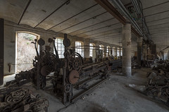 Rusty Machinery (Camera_Shy.) Tags: textile mill fabrica derelict abandoned urban exploration road trip urbex old building weaving machinery machine disused italy decayed ue tresspassing photography rusty exploring decay abandonado forgotten machines spinning clothing rotten nikon d810 singer sewing rust fashioned