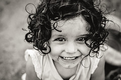 - (daviescamph) Tags: portrait retrato nikon photo photography blancoynegro blackandwhite kid girl happy