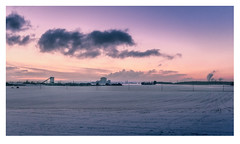 snow land (MvMiddendorf) Tags: snowfield cologne winter sunset lowland snowland