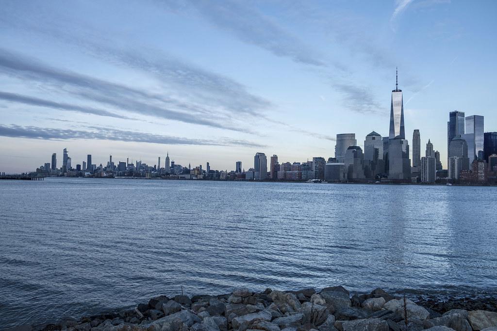 5677354912 NYC Dusk (Brian Fruehling) Tags  nyc newyorkcity manhattan lower skylines  buildings architecture hudson