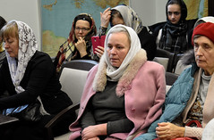 В рамках просветительских курсов «Свет Православия» протоиерей Кирилл Шолков и иерей Андрей Бабушкин прочитали лекции