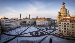 Neumarkt (Christoph Wenzel) Tags: dämmerung deutschland sigma16mmf14dcdn sonyalpha6000 urlaub sonnenuntergang dresden stadt panorama architektur winter sachsen de