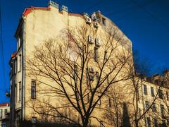 Halfhouse (rsvatox) Tags: saintpetersburg buildings architecture sunlight buesky polarizer urban city