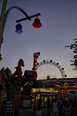 Abends im Prater (Helmut Reichelt) Tags: riesenrad prater abend blauestunde thebluehour wien sommer august österreich austria leica leicam typ240 captureone9 dxophotolab leicasummilux35mmf14asphii