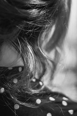 Waves (Evergreen Photoblog) Tags: vintage canon 77d bw woman hair wavy curly
