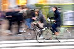A Rainy Day - Copenhagen (FaceMePLS) Tags: kopenhagen copenhagen denmark scandinavië facemepls nikond5500 straatfotografie streetphotography regen nat parapluie umbrella fiets bike cycle zebra bicyclette fahrad fietser tweewieler denemarken