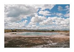 Barreiro, Portugal (Sr. Cordeiro) Tags: barreiro portugal margemsul poça puddle paisagem industrial landscape nuvens clouds abandonado abandoned panasonic gx80 gx85 lumix 14140mm