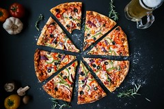 Baked beer cheese - Credit to https://homegets.com/ (davidstewartgets) Tags: baked beer cheese circle closeup cooked crust delicious dough garlic italian meal meat mozzarella mug olives pepper pepperoni pizza red restaurant round sauce slice sliced tasty traditional vegetable