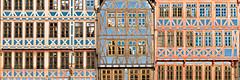 timber framed (m_laRs_k) Tags: architexture römer frankfurt germany abstract lightroomed orangeteal pano classicchrome chromecameraprofile mlarsk