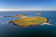 """Inishbofin Island"" (Gareth Wray - 12 Million Views, Thank You) Tags: ireland historic history natural rural gareth wray photography summer inishbofin magheraroarty ballyness bay falcarragh tory beach seven sisters derryveagh mountain range chain muckish errigal landscape landmark tourist tourism scenic visit sight irish county dji phantom 4 four drone quadcopter seascape ocean donegal atlantic sea derrybeg bunbeg gweedore bloody foreland view traditional heritage coast wild way coastal sun island town settlement village shore seaside water aerial uav p4p pro grass sky magheroarty"