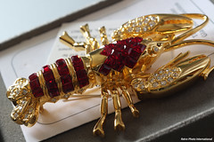 Lobster (Retro Photo International) Tags: lobster pin jewelry macro carlzeissjena tessar 50mm 35 macromondays