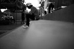 TA of Embercore (Matt Nicolas Trinidad) Tags: philippines opm rakrakan event concert stage laguna represent losbanos lb elbi esp guitars drums bass strings crowd wild excellent maybe drink alcohol beverages plenty stuff going cap new meta stance logo hip hop ibanez prs case hard