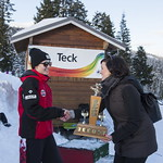 Alexa Brownlie (Whistler Mountain Ski Club) wins 2019 Teck Enquist Slalom Trophy PHOTO CREDIT: Michael Iwasaki