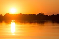 Закат в Окаванго (Oleg Nomad) Tags: африка ботсвана окаванго дельта закат вода africa botswana okavango sunset travel