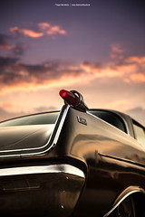 1962 Imperial Crown Fin (Dejan Marinkovic Photography) Tags: 1962 imperial crown fin american classic car virgil exner sky sunset detail chrome taillight