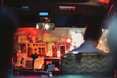 Fire on high way (Scofield Chan) Tags: art nightview dream blur reflection people snapshot streetphotography explore urban city van car lighting blight night red street happyplanet asiafavorites