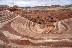 Fire Wave at the Valley of Fire (doveoggi) Tags: nevada valleyoffire desert firewave travel usa geology